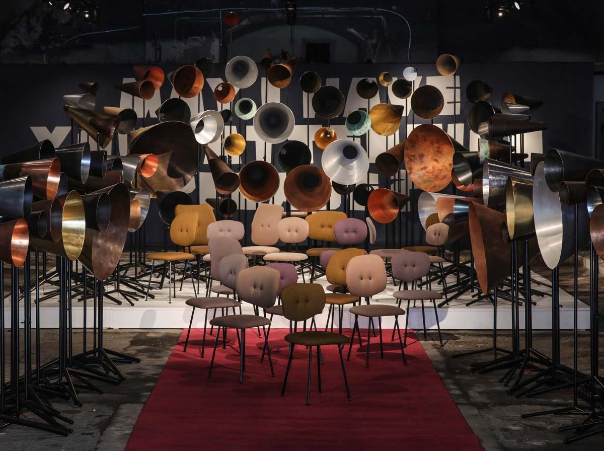 Lensvelt & Modular, All New Maarten Baas MB Chairs Milan Design Week 2017 © JanWillem Kaldenbach