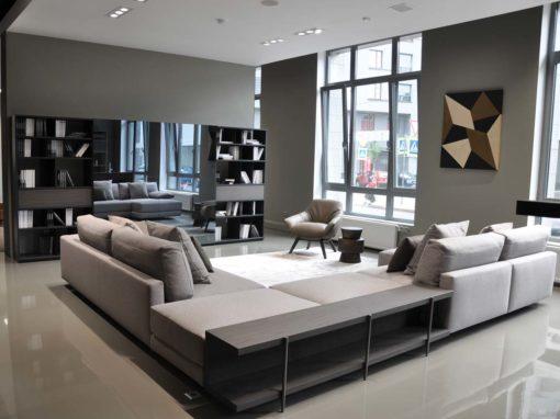 Poltroncine Florentia e divano componibile Madison by Mauro Lipparini