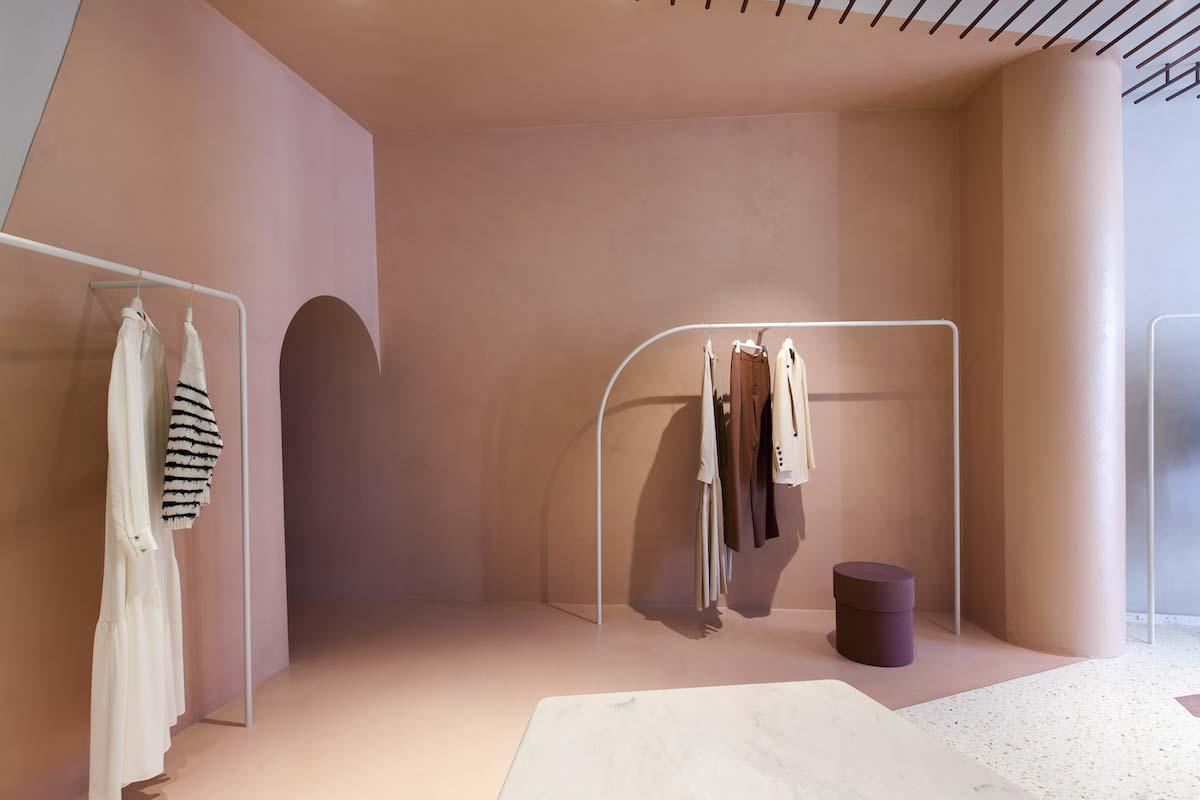 Boutique Alysi, Milano, progetto Studiopepe