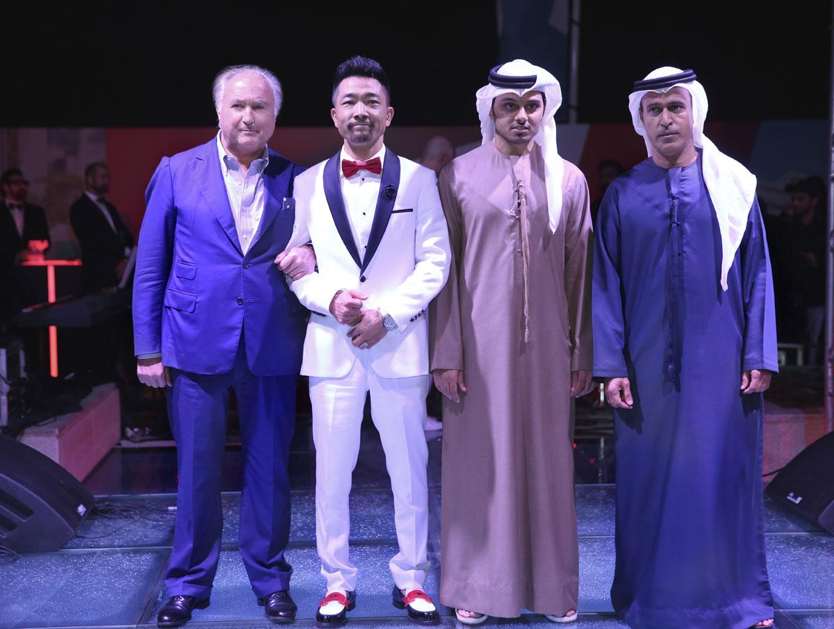 Tonino Lamborghini, Ma Gualong, Al Ali Mohammad Ali Abdulla Al Shafar