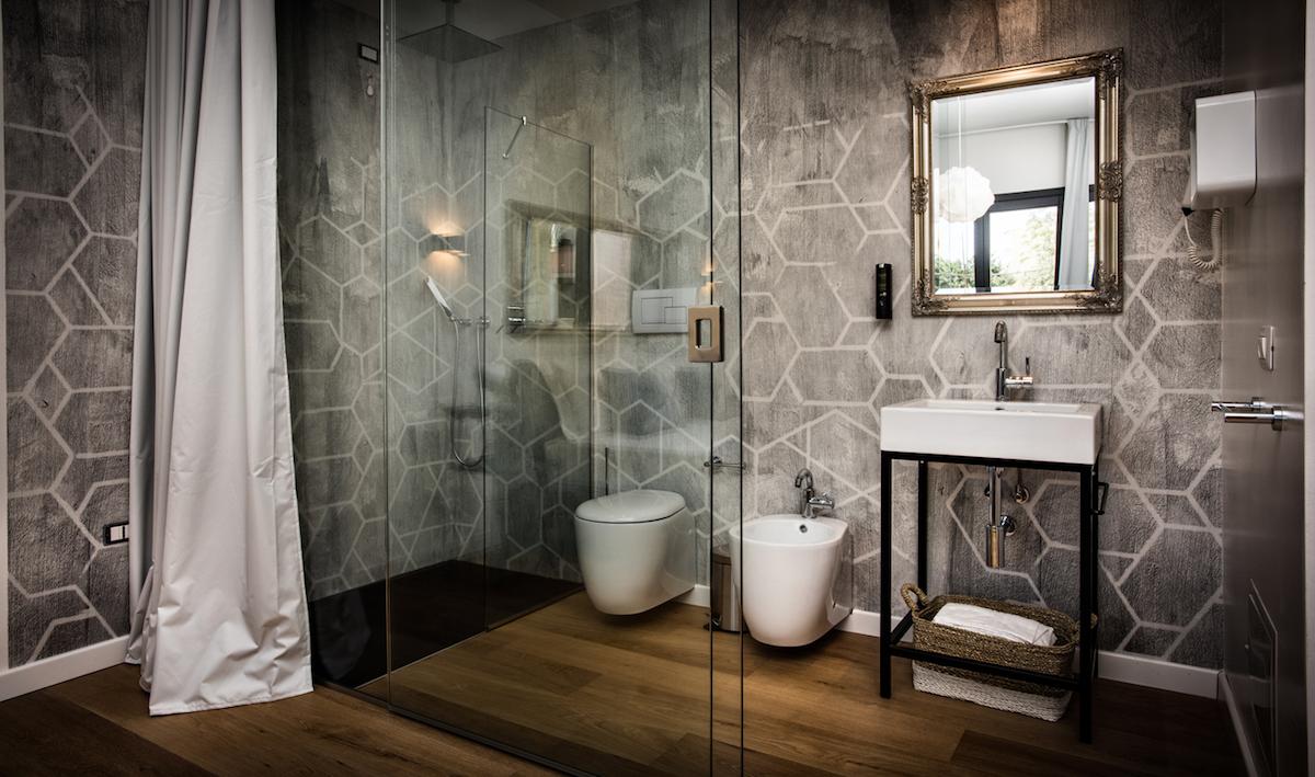 Teku Hotel, Sardegna, Wet System by Wall&decò