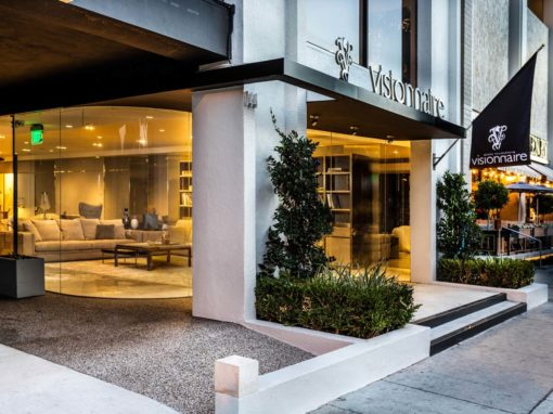Visionnaire's flagship showroom, Los Angeles