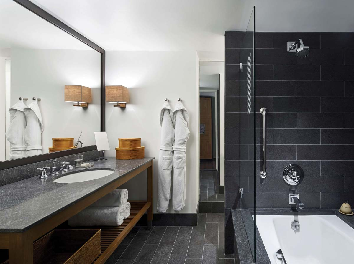 Park Hyatt Hotel Washington DC, bagno