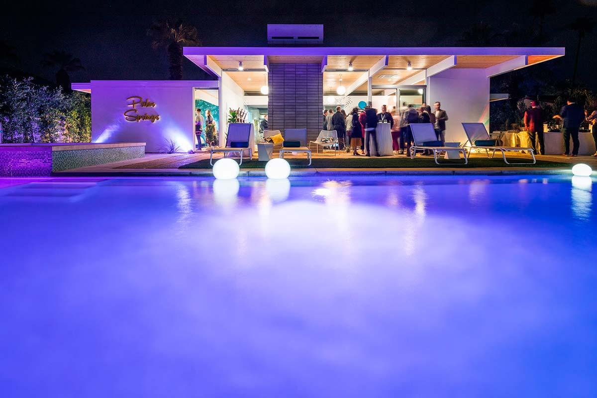 """Eichler Palms"" Social at the Modernism Week Featured Home: Desert Eichler, February 15"