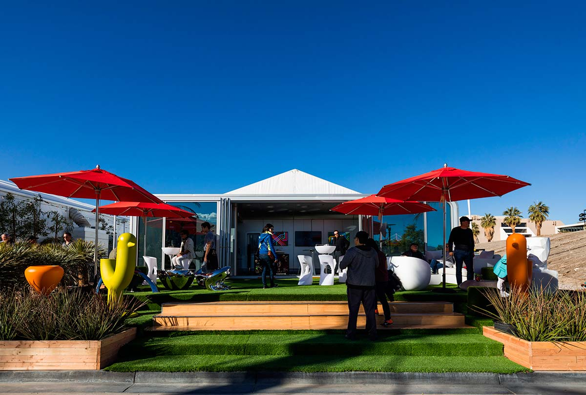 The Alpod by Dosooz Pop-Up at Modernism Week's CAMP (Community And Meeting Place)