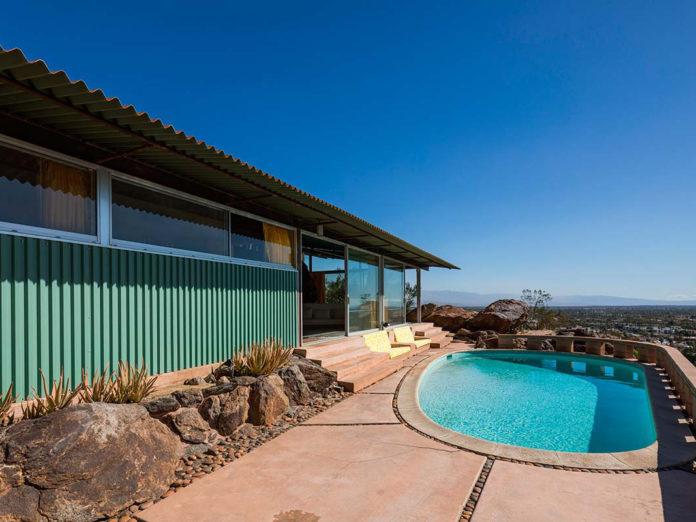 Frey House II, designed by Desert Modernist Albert Frey