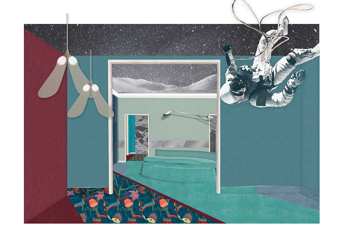 Planetario by Cristina Celestino per Besana Carpet Lab @Brera Design Apartment