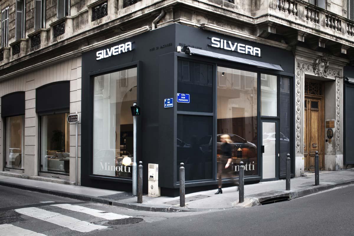 Showroom Minotti-Silvera, Marsiglia