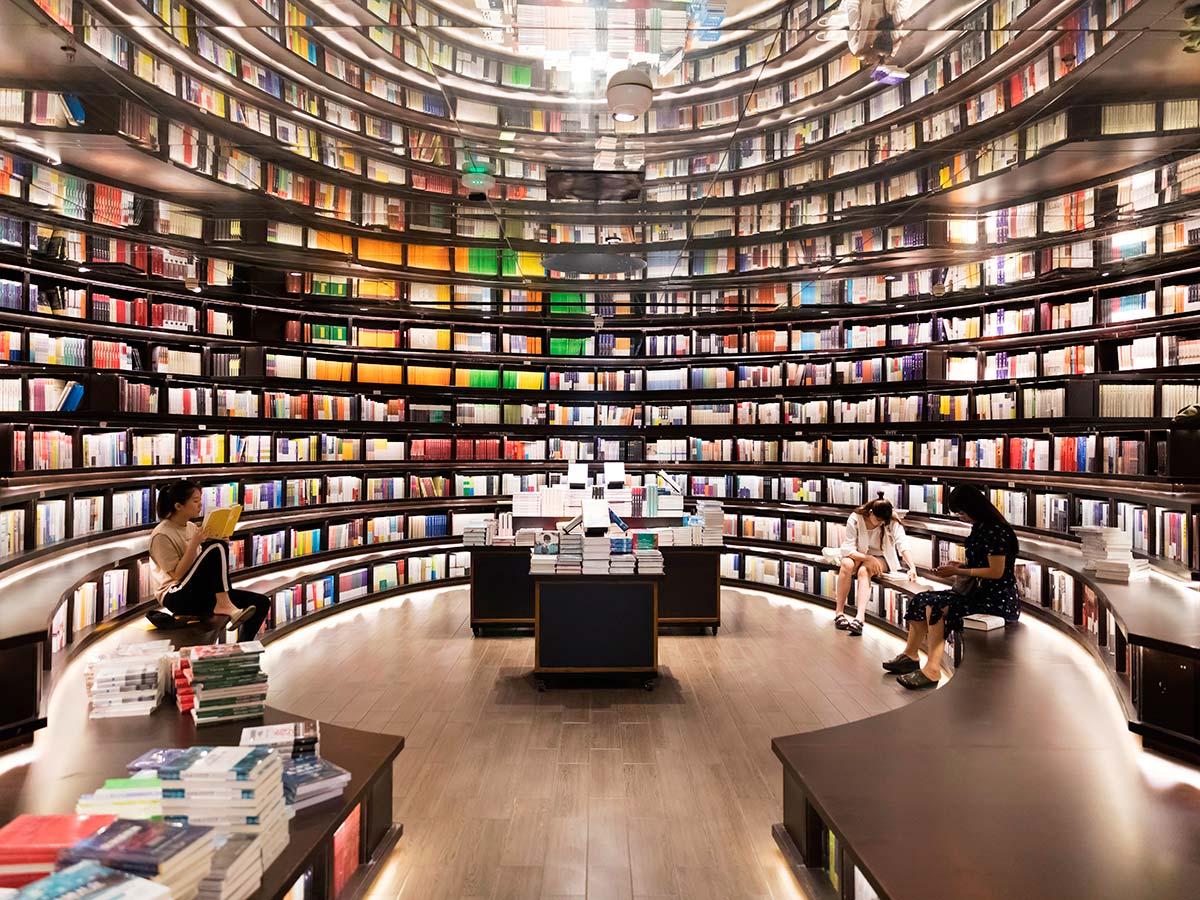 Bookstore di Hangzhou, Cina © Maoyunping