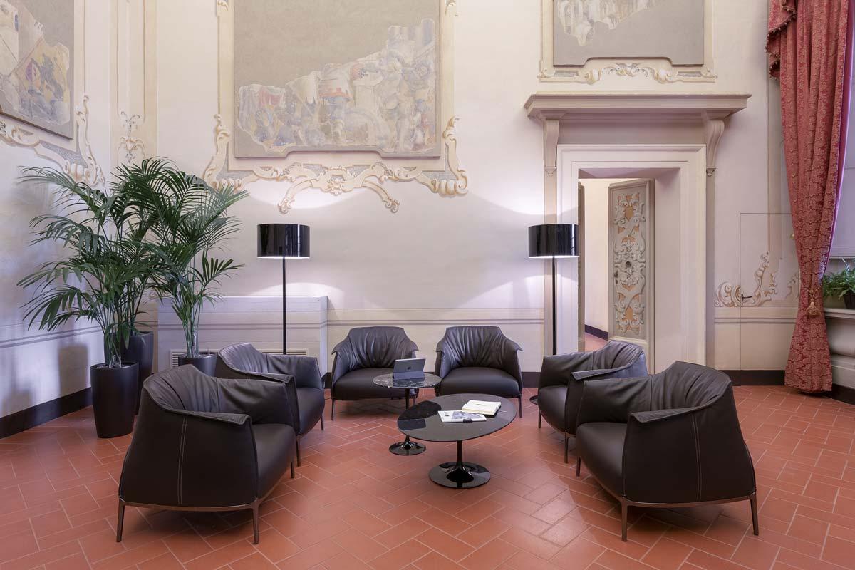 Unipol Gruppo, San Lazzaro di Savena, Bologna. Interior project by Studio Pierattelli Architetture. ©Iuri Niccolai