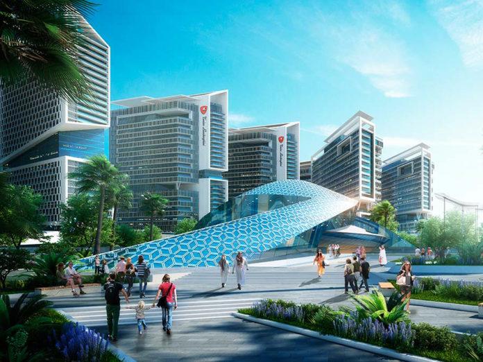 Tonino Lamborghini Residences Dubai, Community Center