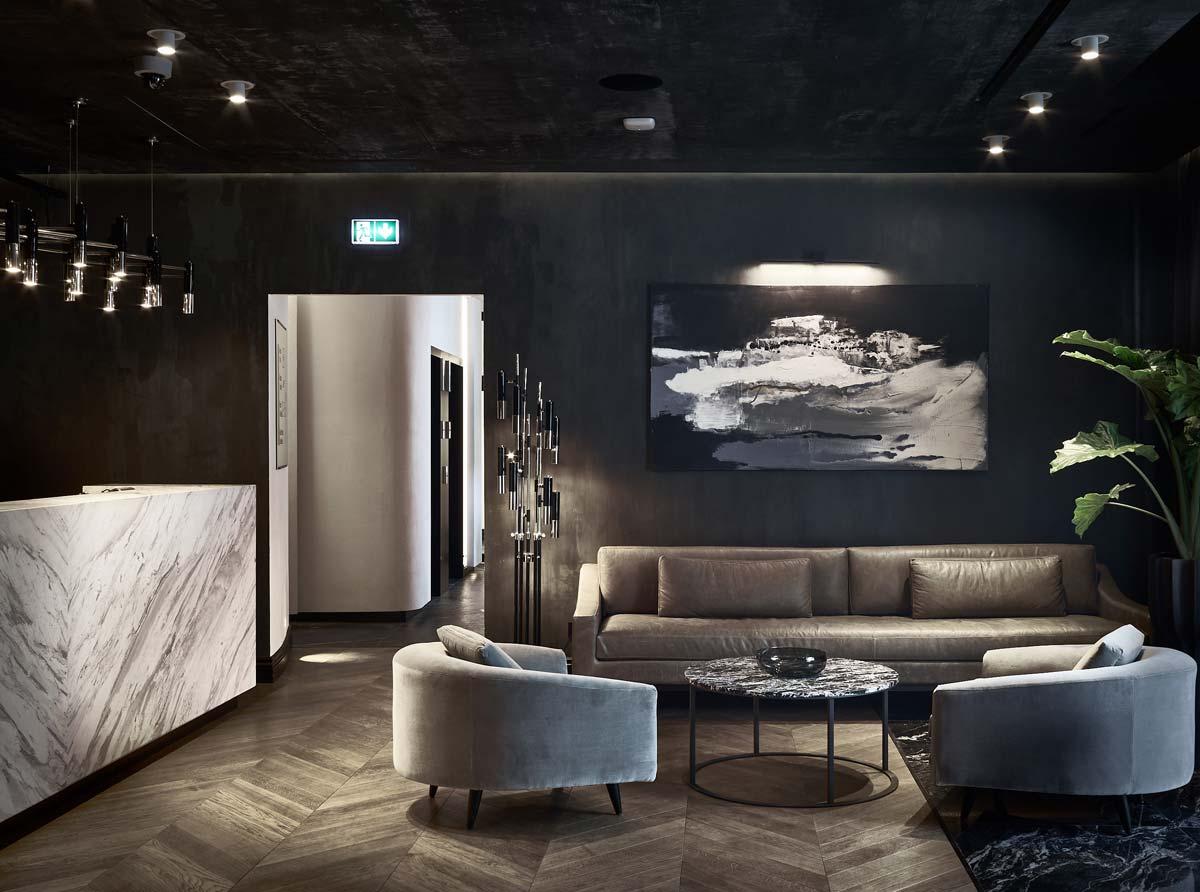Design Hotel Pacai, Lobby