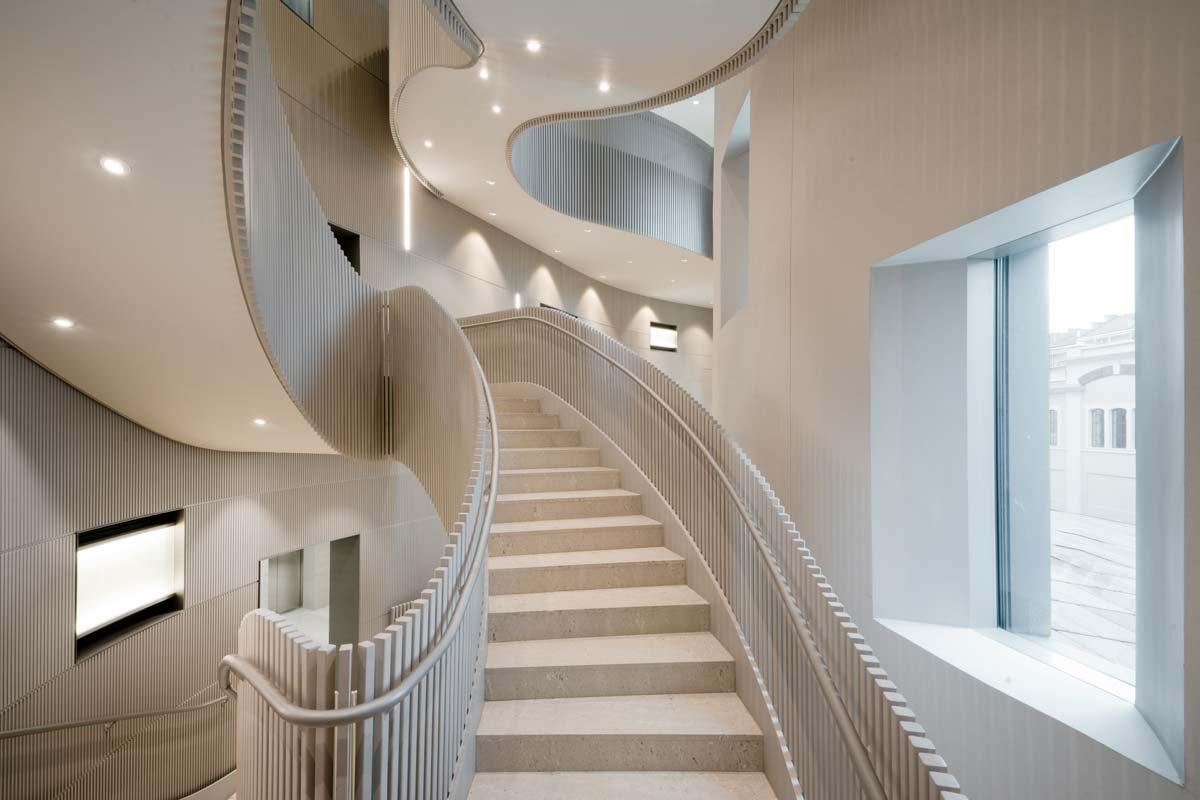 Interior building Lavazza, Torino