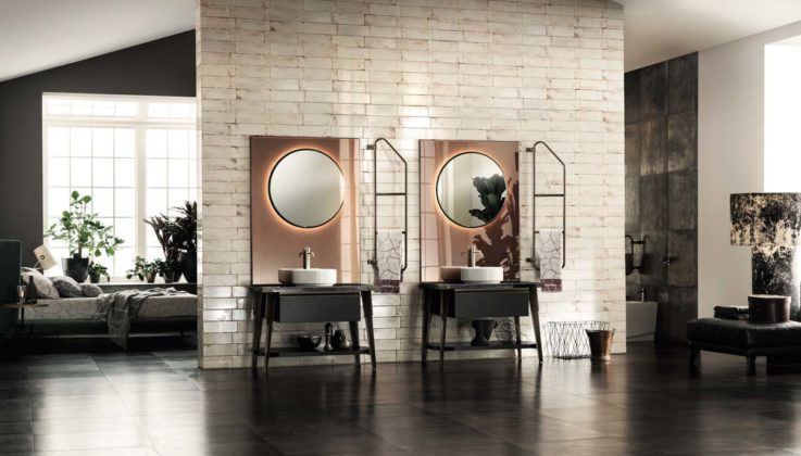 Diesel Open Workshop bathroom, by Scavolini