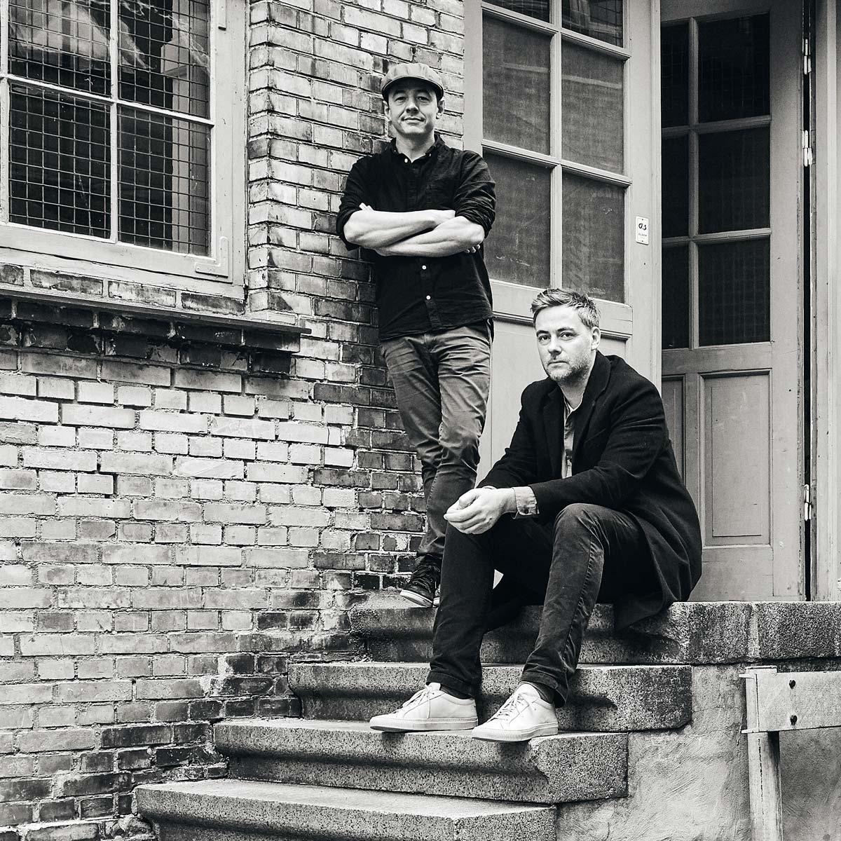 Christian Bjerg Elving e Kim Mekawi, fondatori Karakter