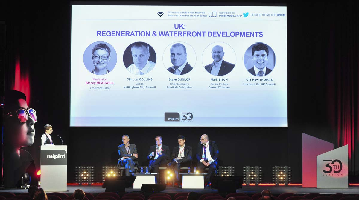 Mipim2019 - Conferences - UK: regeneration&Waterfront Developments © V. Desjardins