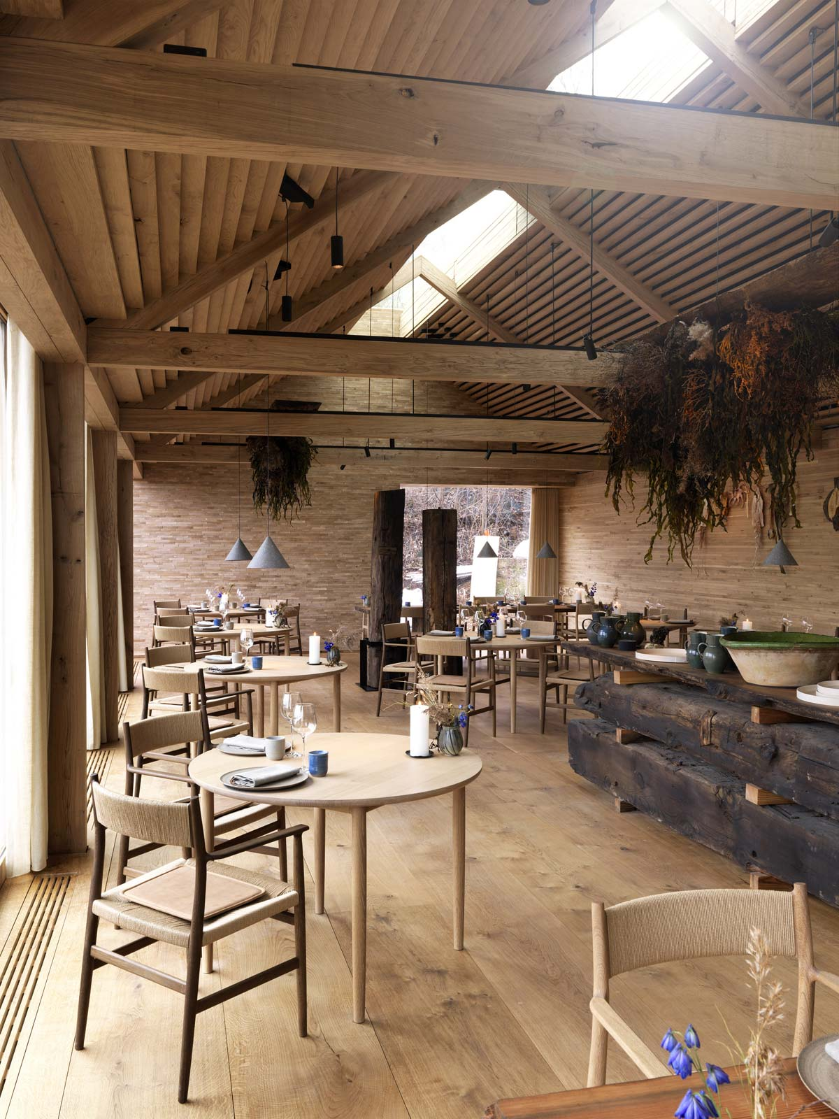 Sala da pranzo, Noma resturant, Copenaghen