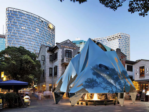 City Life. Mountain Love by Atelier Indj