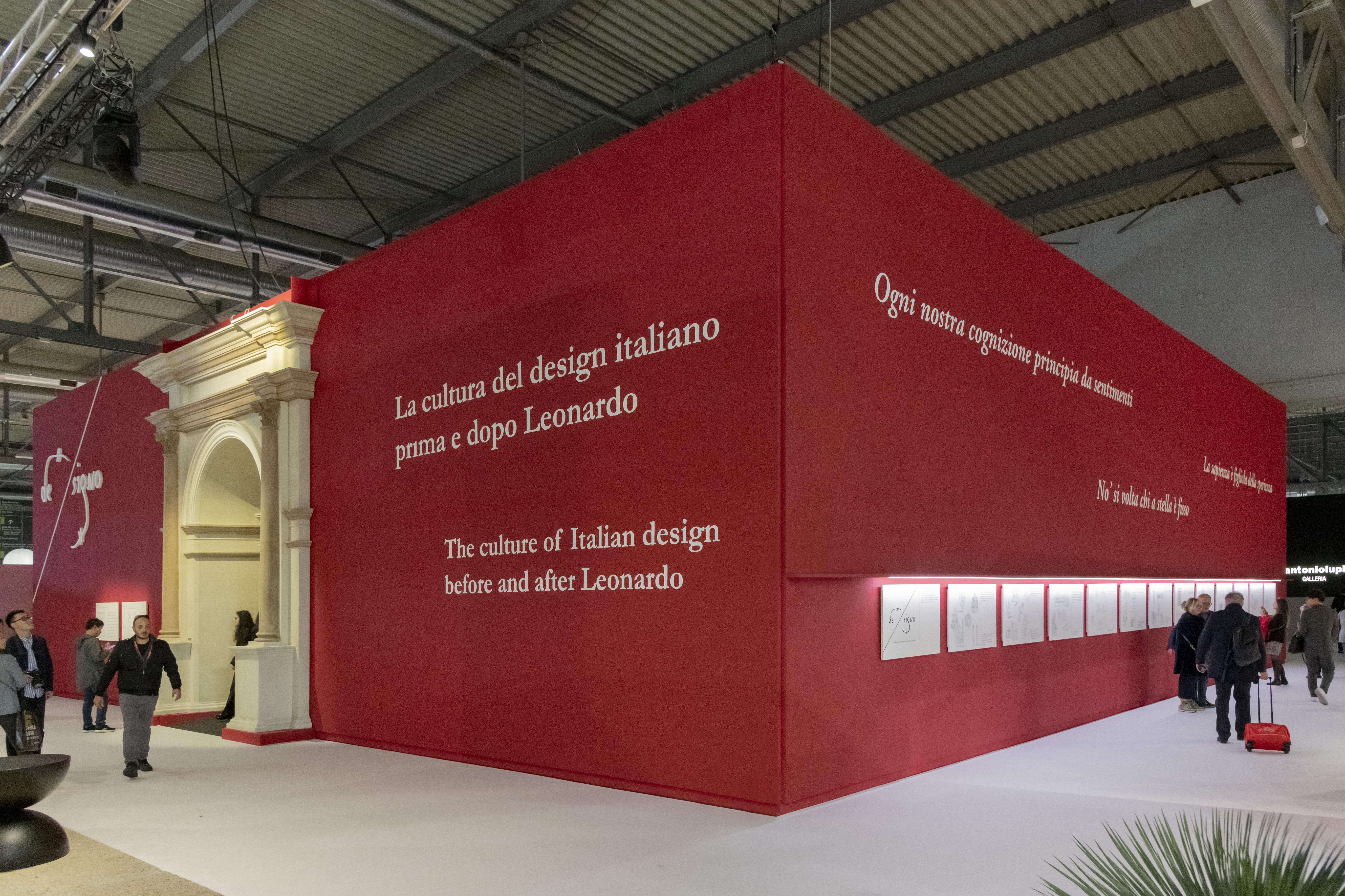 DE-SIGNO. La cultura del design italiano prima e dopo Leonardo