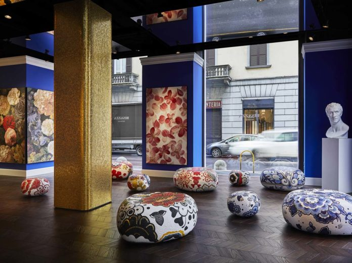 Nuovo flagship store Bisazza e Purples by Marcel Wanders