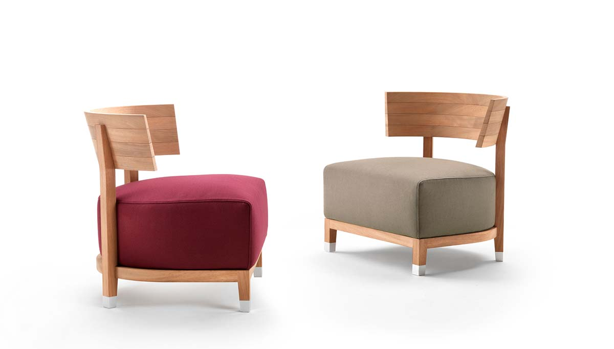 Poltrone Thomas Outdoor by Carlo Colombo