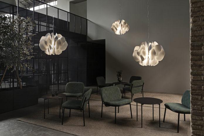 Lladro Nightbloom Hanging Lamp by Marcel Wanders