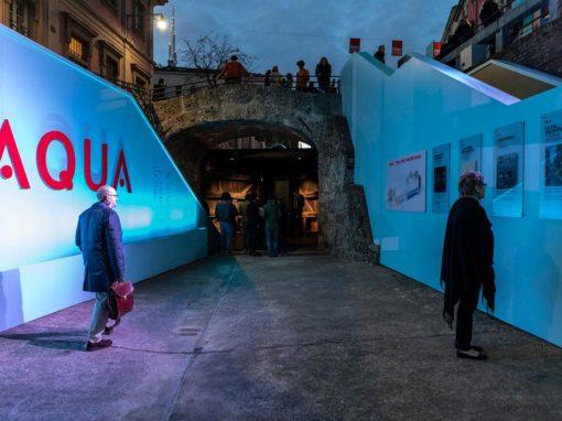 """Installazione """"AQUA. La visione di Leonardo"""" - Photo © Andrea Mariani"""