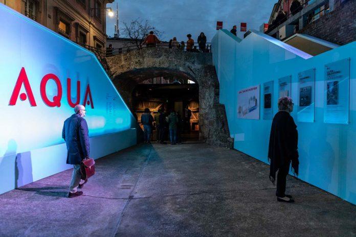 """AQUA. Leonardo's Vision"" installation - Photo © Andrea Mariani"