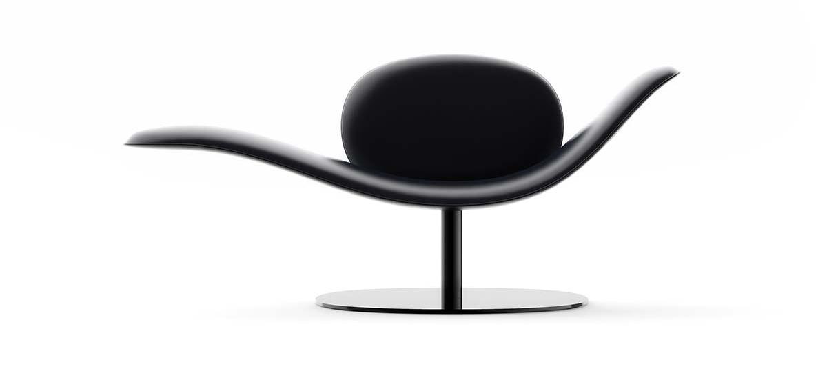 Chaise longue Dove, Collezione Dandy by Natuzzi Italia, design Marcel Wanders