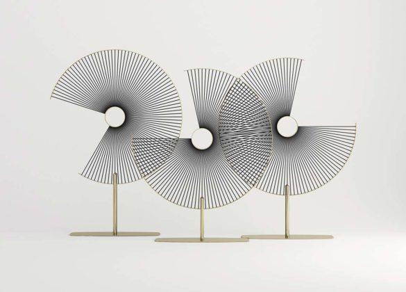 Flare screen by Paolo Castelli, design Paolo Castelli