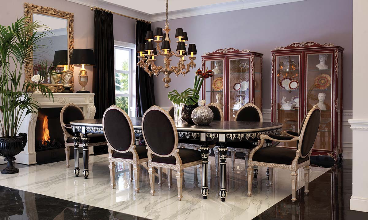 Dining room Fil Rouge by Roberto Giovannini