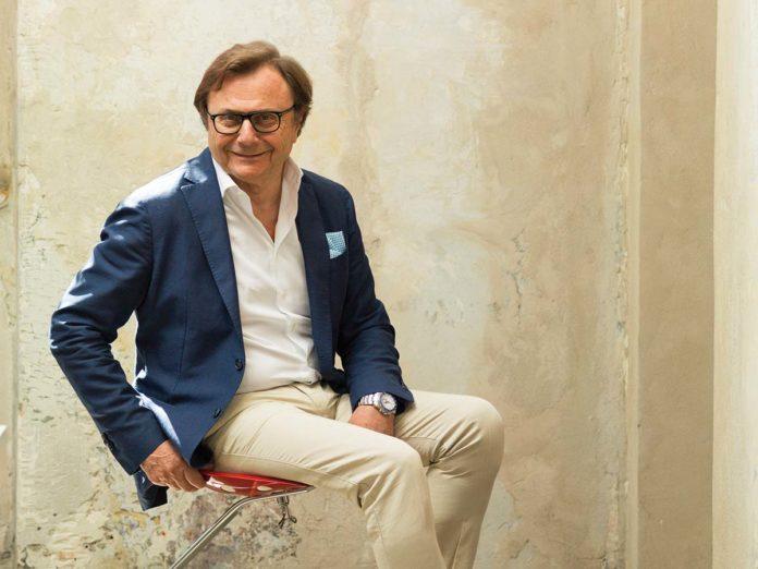 Giuliano Mosconi, President&CEO of Zanotta - Photo © Yoshie Nishikawa
