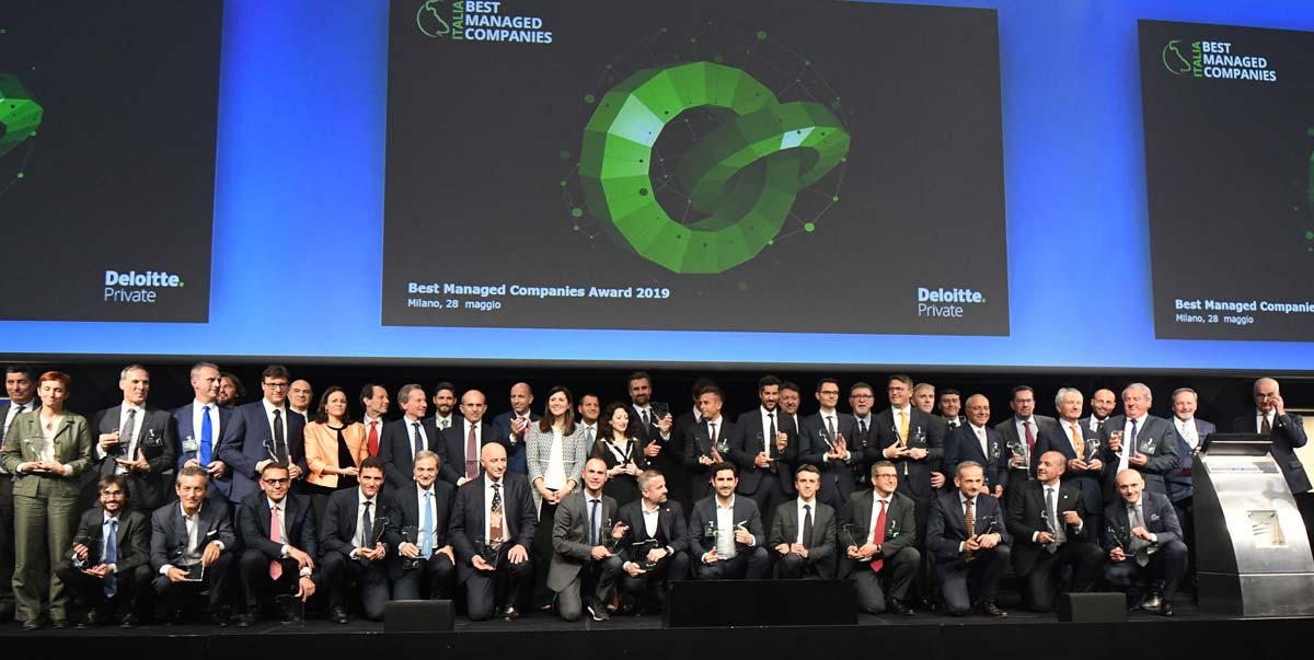 Premiazione Best Managed Companies, Palazzo Mezzanotte