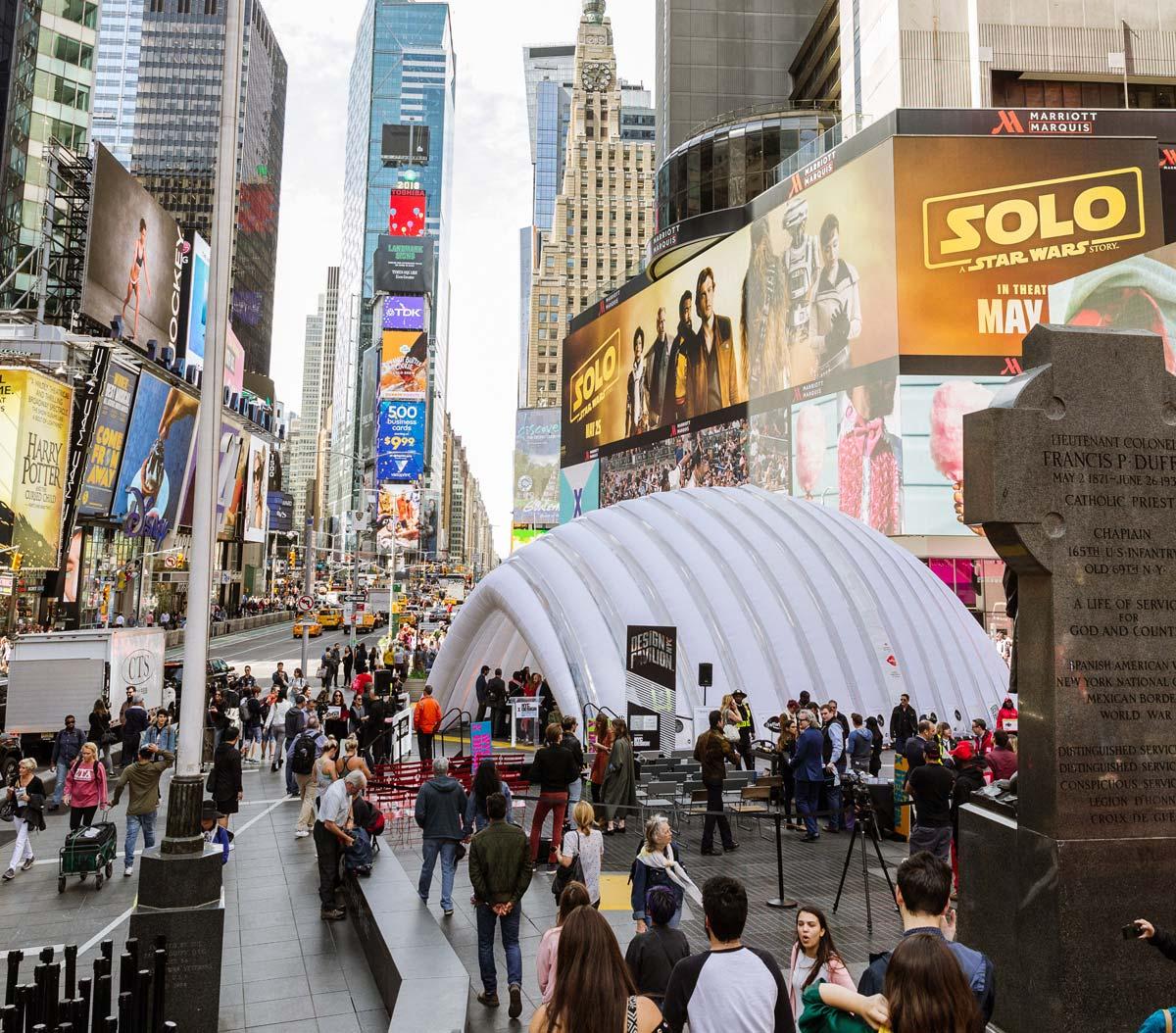 Design Pavilion, Times Square