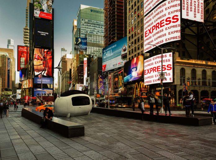 Ecocapsule, Times Square