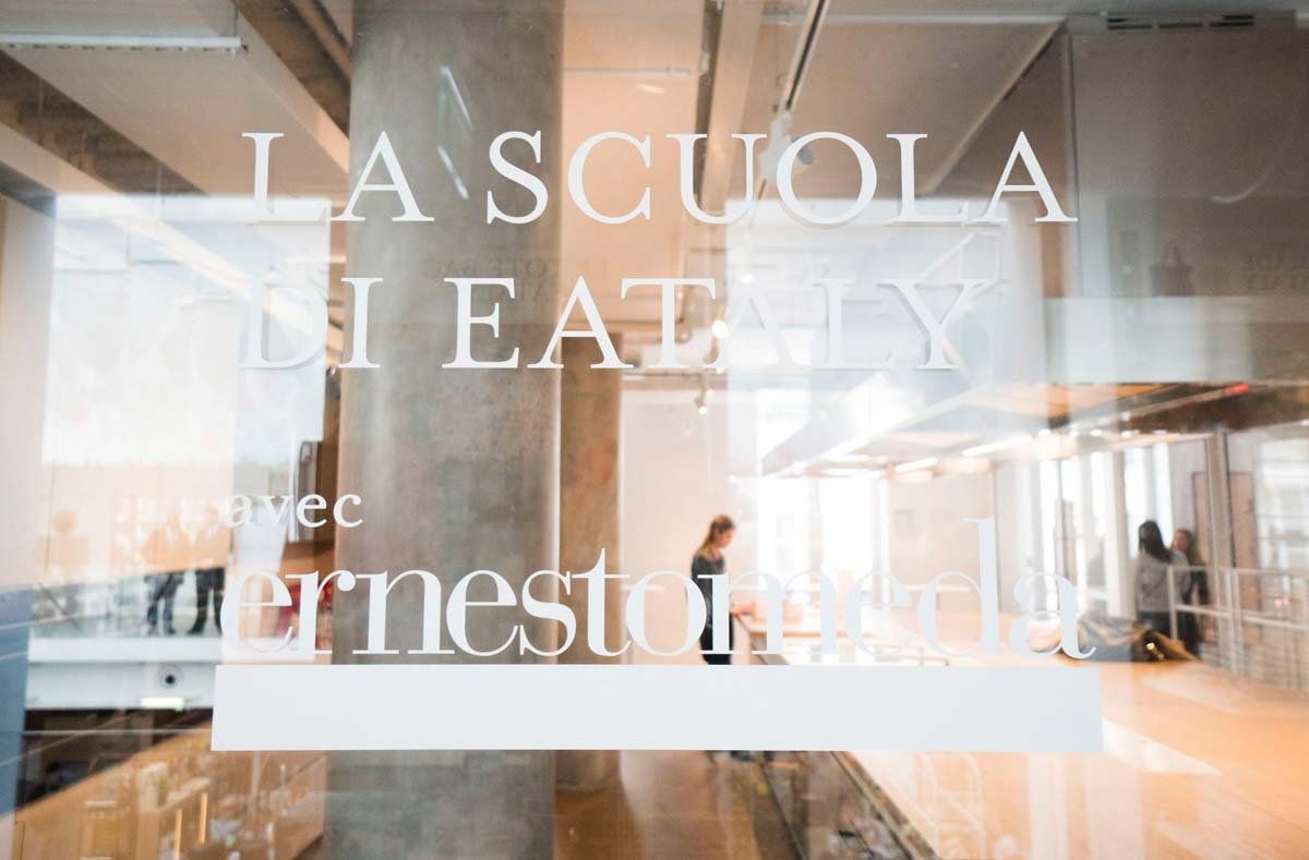 Ernestomeda a Eataly Paris