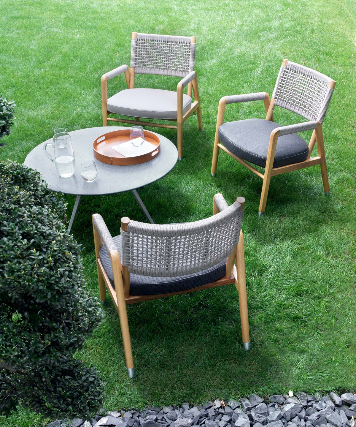 Ortigia outdoor armchairs
