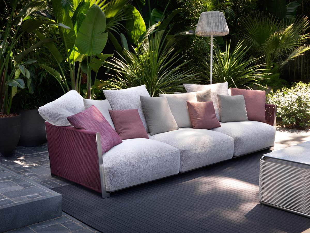 Vulcano outdoor sofa