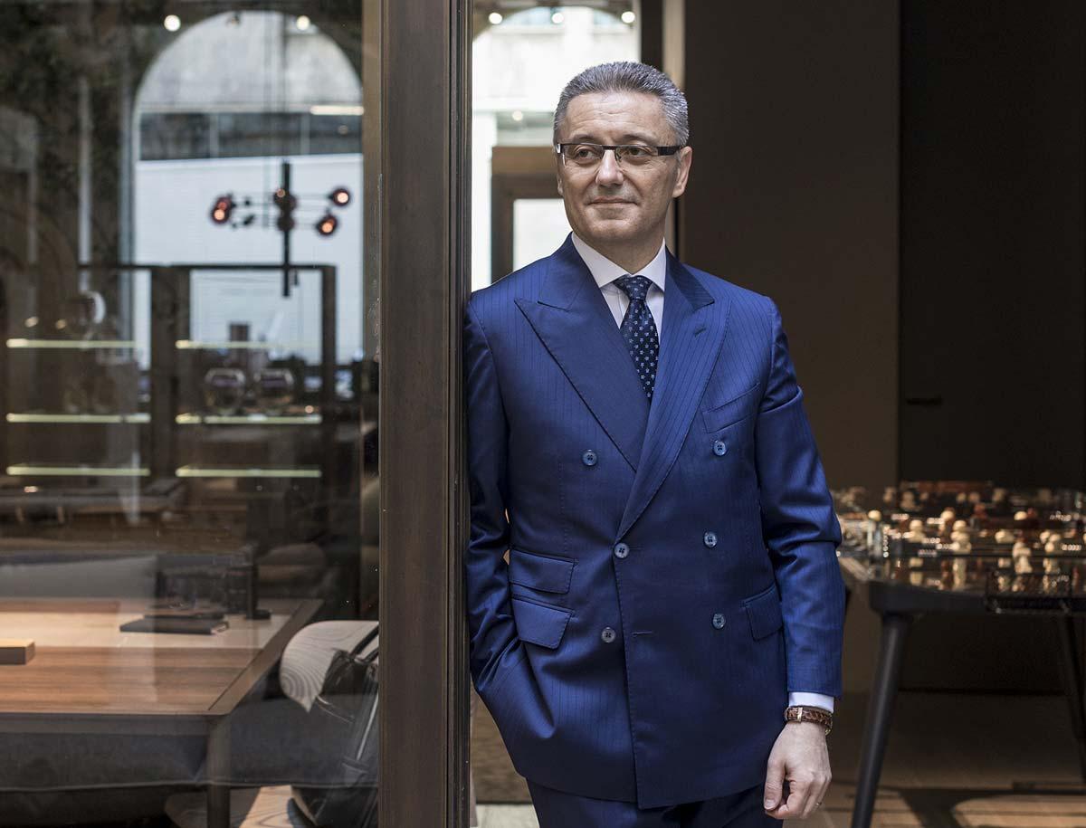 Giovanni Del Vecchio, CEO di Giorgetti