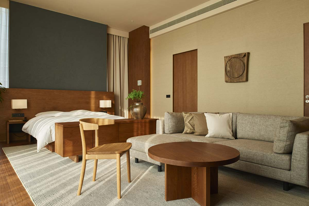 Muji Hotel, room