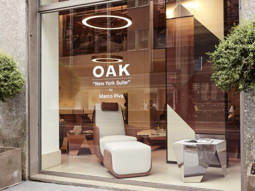 Vetrina Oak, Showroom Via Fatebenefratelli, Milano