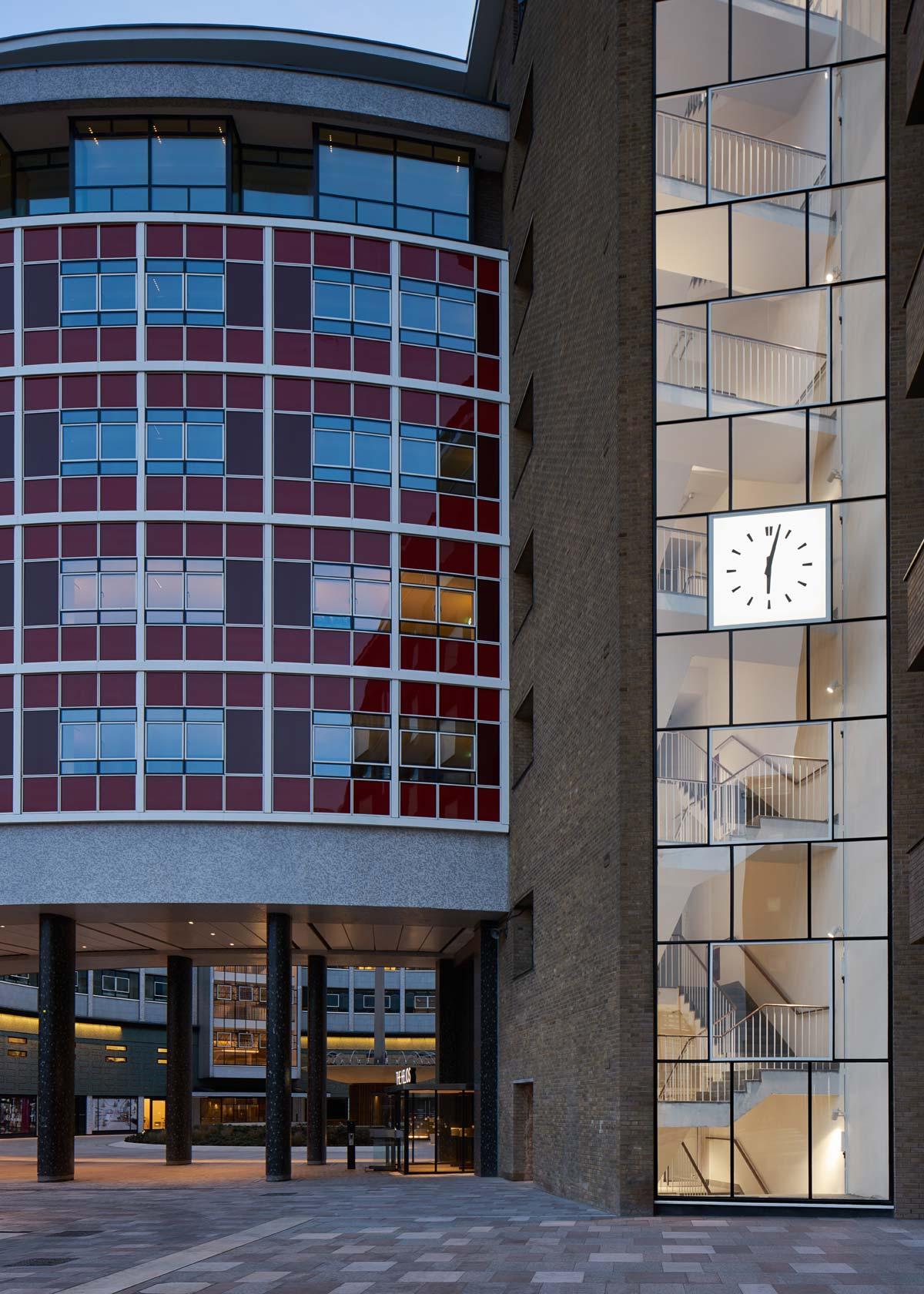 Clock, Television Centre