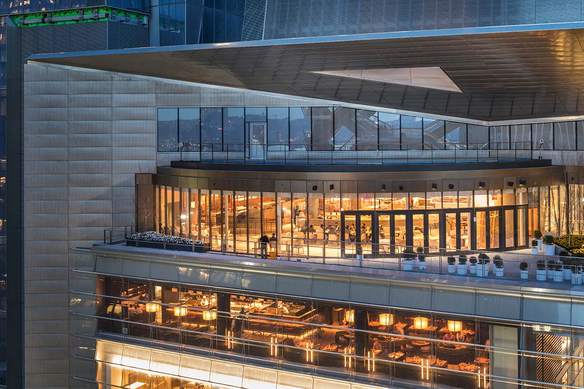 The Shops & Restaurants at Hudson Yards - photo © courtesy of Francis Dzikowski for Related Oxford