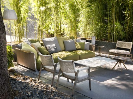 Vulcano sofa, Ortigia Outdoor armchairs