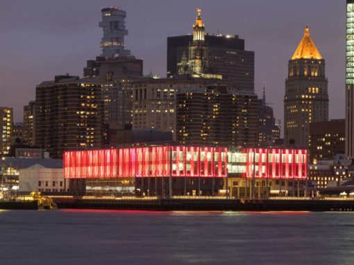 Pier 17, luogo in cui si svolgeranno Nycxdesign Awards & Icff Party