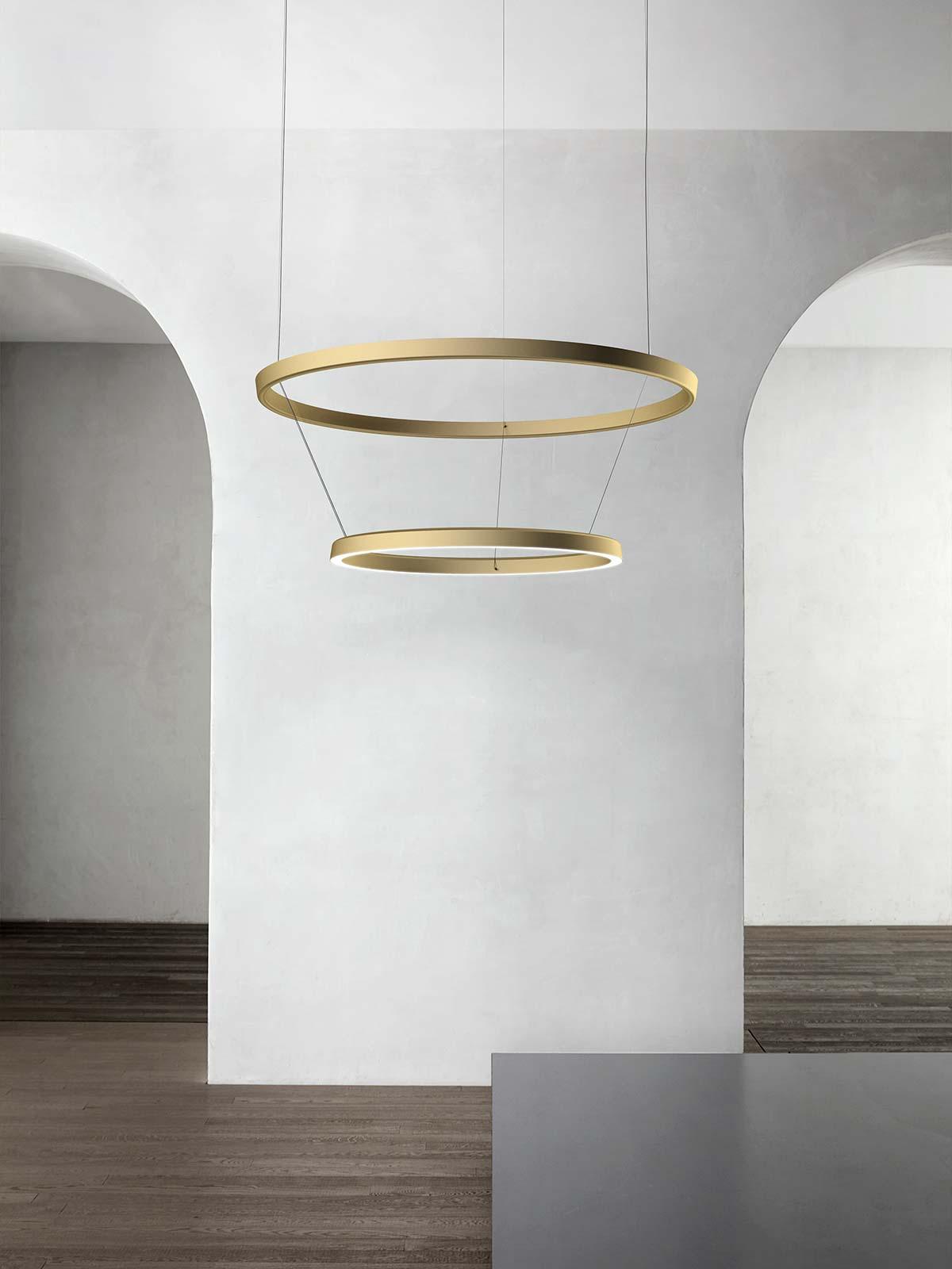 Compendium circle by Luceplan, design Daniel Rybakken