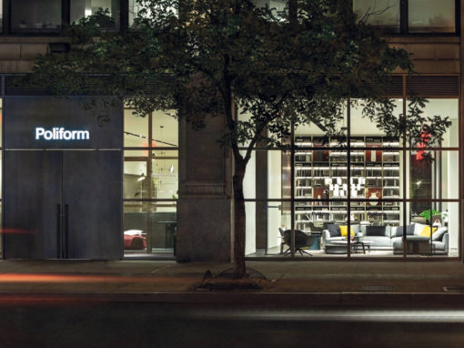 Lo showroom Poliform Madison Avenue fa da cornice a eventi di NYCXDesign