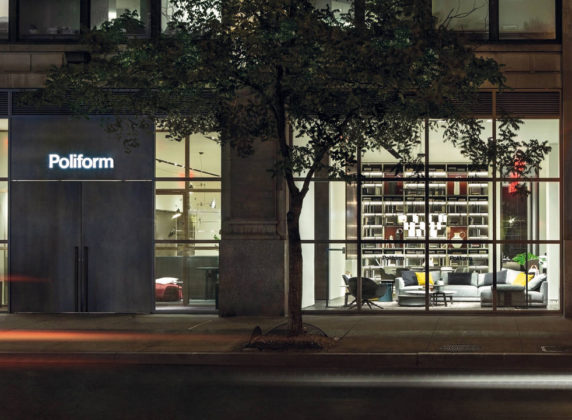 Lo showroom Poliform Madison Avenue fa da cornice a eventi di NYCXDesign
