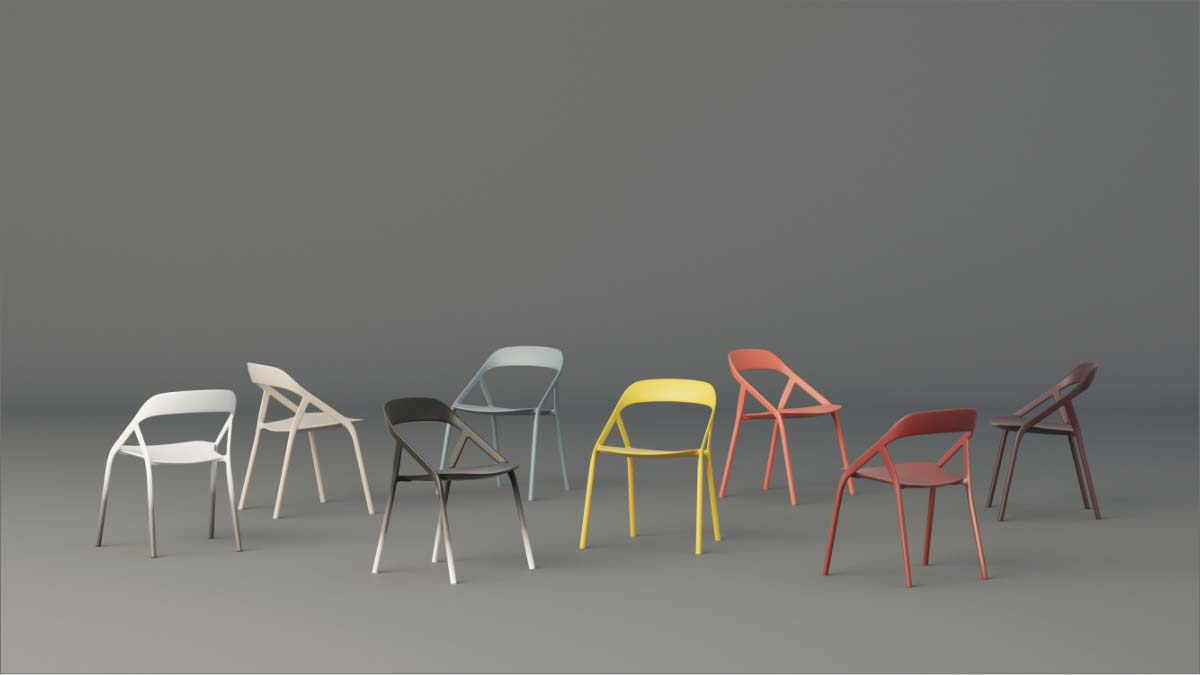 LessThanFive chair by Coalesse - Design Coalesse Design Group & Michael Young