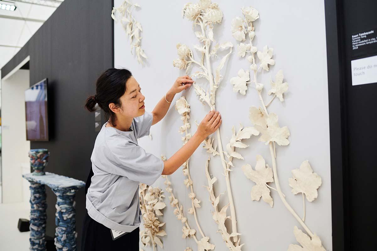 Kaori Tatebayashi at Future Heritage at Decorex International 2018